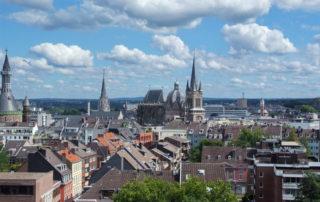 Dächer von Aachen