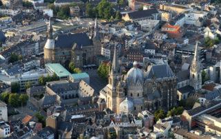Luftaufnahme Aachen Altstadt